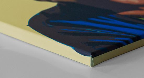 YourBestPicture Popart-Bild: Detail Fotoleinwand